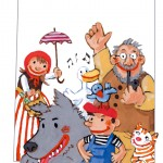 Peter und der Wolf, Illustration: Tanja Székessy